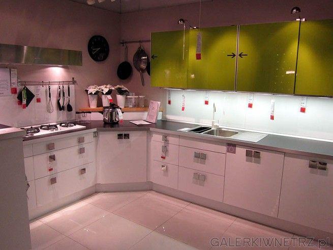 Kuchnia Narozna Biale Szafki Kitchen Cabinets Kitchen Home Decor