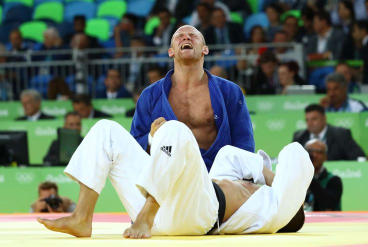Tough luck:    French judoka Alexandre Iddir (in blue) reacts during his match against Sweden's Marcus Nyman during the Men's 90 kg repechage. Nyman won the match.  -    2016 Rio Olympics: Highs and lows from day five