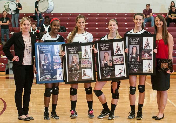 senior+volleyball+pictures | Volleyball Sweeps Nova Southeastern on Senior Day - Official Site of ...