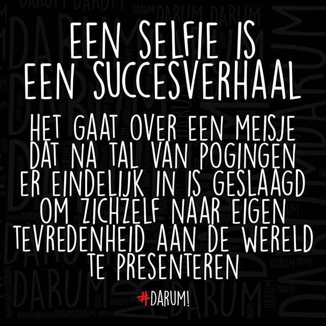 Er was eens een selfie!!