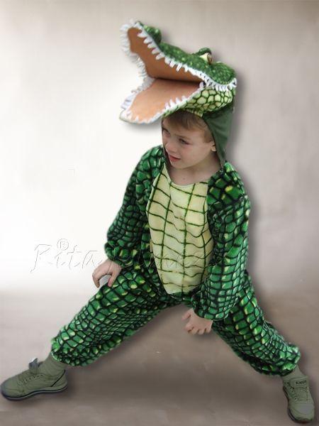 Krokodil jelmezemet a fiúk nagyon kedvelik.