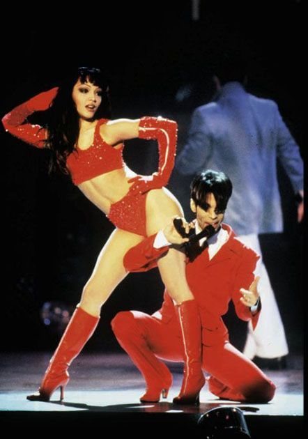 Prince and Mayte Garcia - 442 x 630