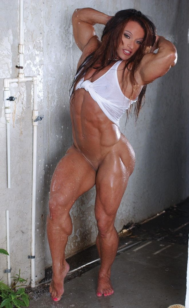 Spending colette guimond female muscle