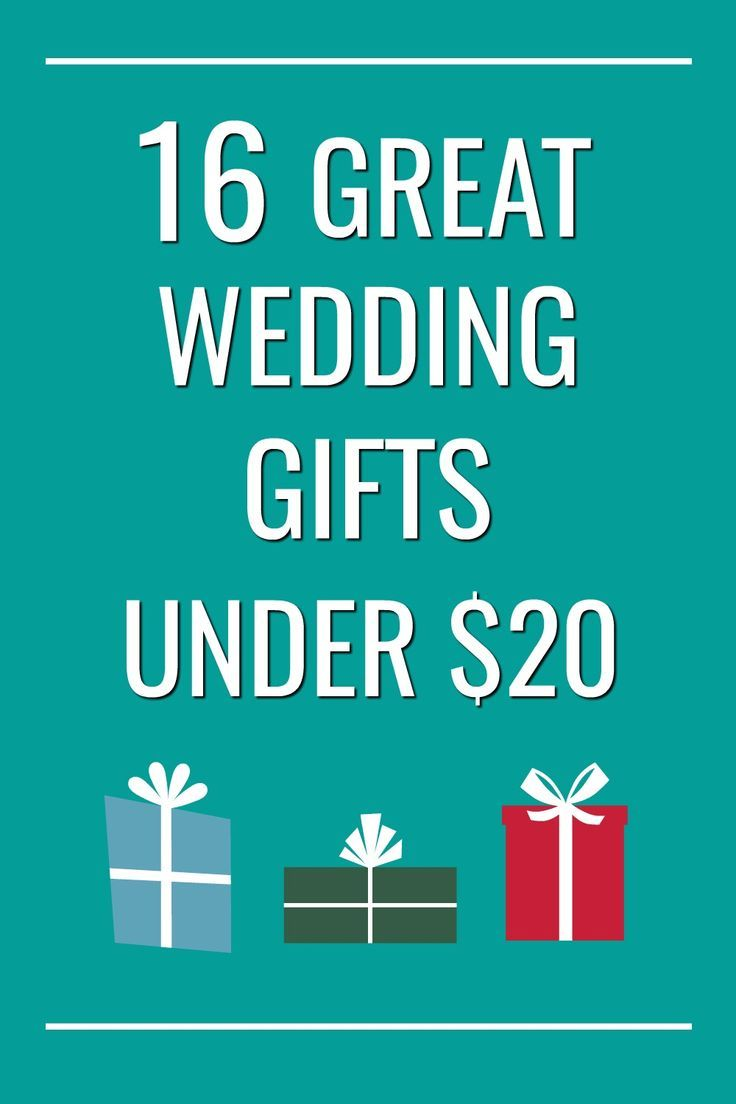 Wedding Gift Ideas | Gifts on a Budget | Wedding Gifts on a Low Income | Gifts You Can Give When Youu0027re Broke #giftideas  sc 1 st  Pinterest & Cheap Useful Wedding Gifts: 16 Ideas for $20 or less | Gift Ideas ...