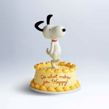 Hallmark Figurine: Happy Snoopy Figurine