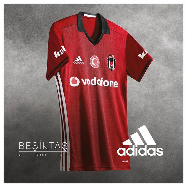 Camisas do Besiktas 2016-2017 Adidas Terceira