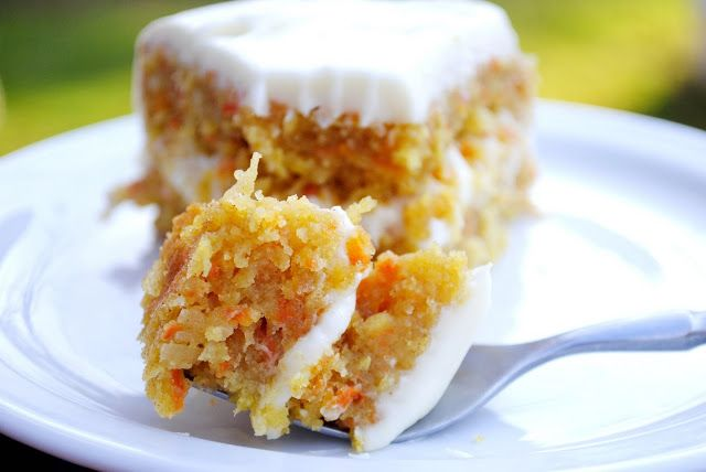 Pineapple Carrot Coconut Cake by simplyscratch #Cake #Carrot #Pineapple #Coconut