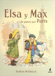 Elsa y Max de paseo por París