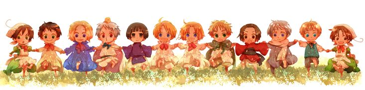 Tags: Axis Powers: Hetalia, Japan, France, China, Prussia, Russia, North Italy, Germany, United States, United Kingdom, Spain, Canada, Chibitalia, South Italy, Gilbird, Asian Countries, Allied Forces, Axis Power Countries, Soviet Union, Mediterranean Countries, Chibimano, Germanic Countries, Pixiv Id 3646438