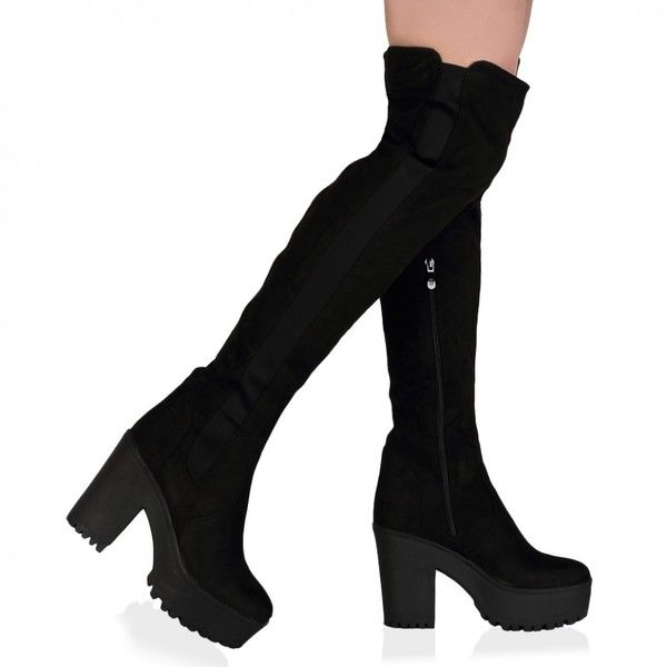 25  best ideas about Stretch knee high boots on Pinterest | Boots ...