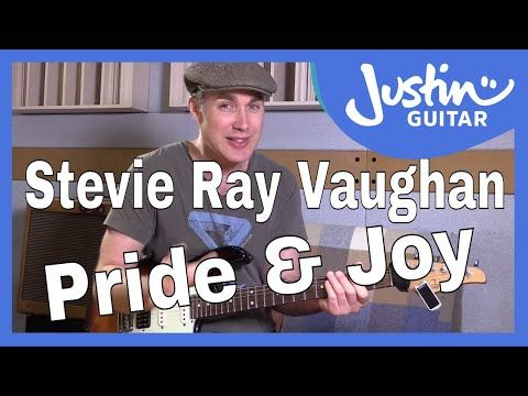 How to play Pride And Joy by Stevie Ray Vaughan - Guitar Lesson