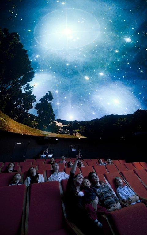 Pelorus Trust Planetarium at Carter Observatory, Wellington, NZ