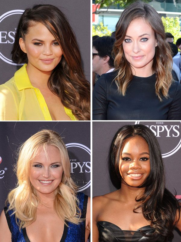 Olivia Wilde, Chrissy Teigan  More ESPYs Beauty — Vote On Your Fave