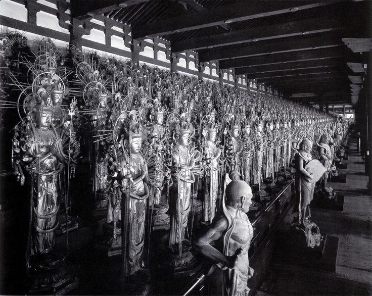Buddhist Deities of Sanjusangen-do; Japan    #Zen #Buddhism #Esoterism #Mysticism #Spirituality #God #Religion  #Chan #Zazen  #Islamicshop #Sufishop #Kiswah #kiswa #Poetry #Japan