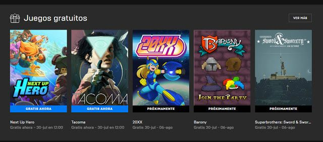 Epic Games Store Free Games