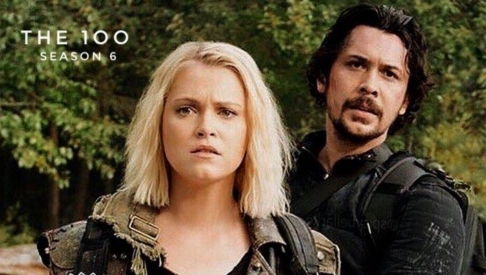 The 100 Season 6 - Bellamy & Clarke #bellarke #together #the100