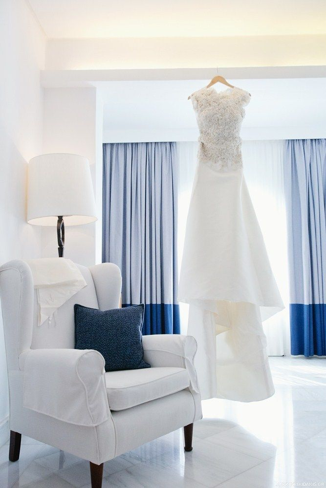 Wedding dress not included in room facilities at Mykonos Grand Hotel & Resort!!!