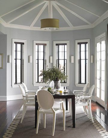 Adorable Modern Dining Room With Fancy Acrylic Chairs And Dark Wood Coffee Table Small Living Room Paint Colors