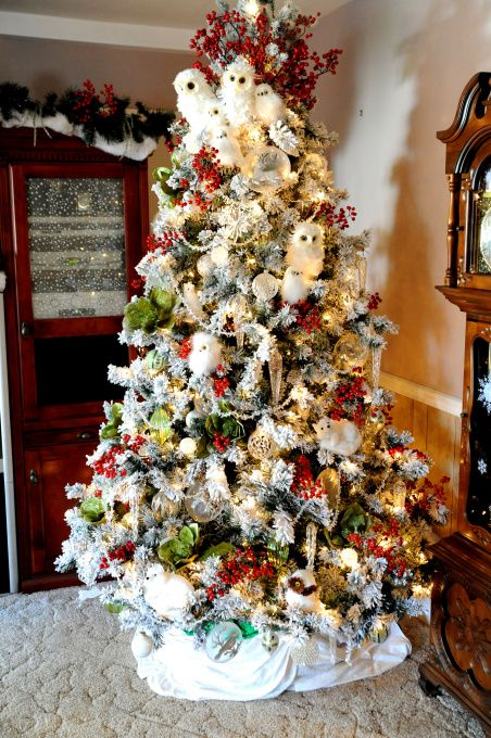 285 best 27. Birdhouses and Birds Christmas tree images on ...