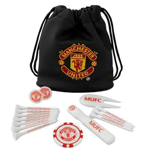 Manchester United FC Tote Bag Golf Gift Set