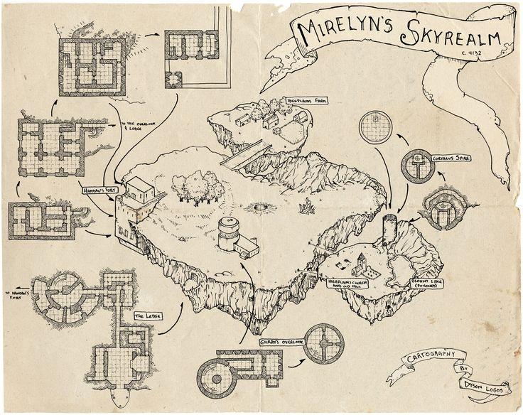 Cartographer's Guild Forum challenge map.