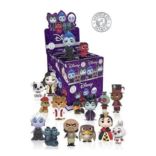 Disney Villains Mystery Minis Wave 1 Random 4-Pack - Funko - Disney - Mini-Figures at Entertainment Earth