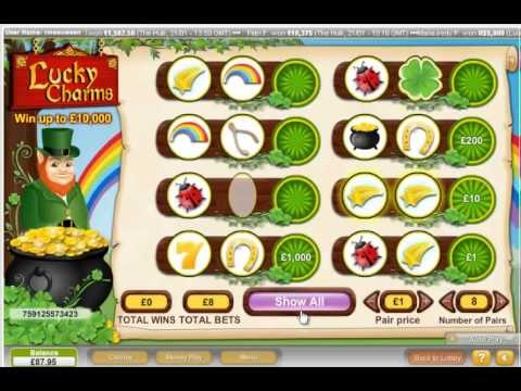 casino online roulette free lucky charm book