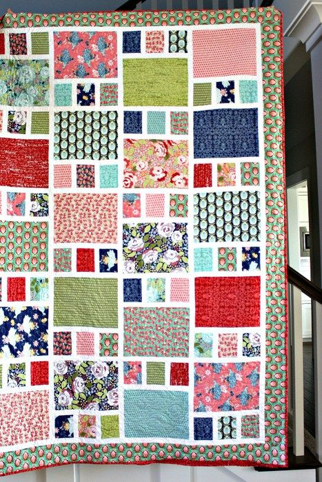 craftsman-quilt-amy-smart. Fat quarter friendly quilt for purchase