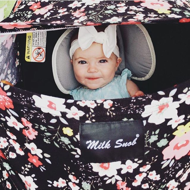 Milk Snob Cover Breastfeeding cover Nursing cover infant car seat cover newborn cover baby must have