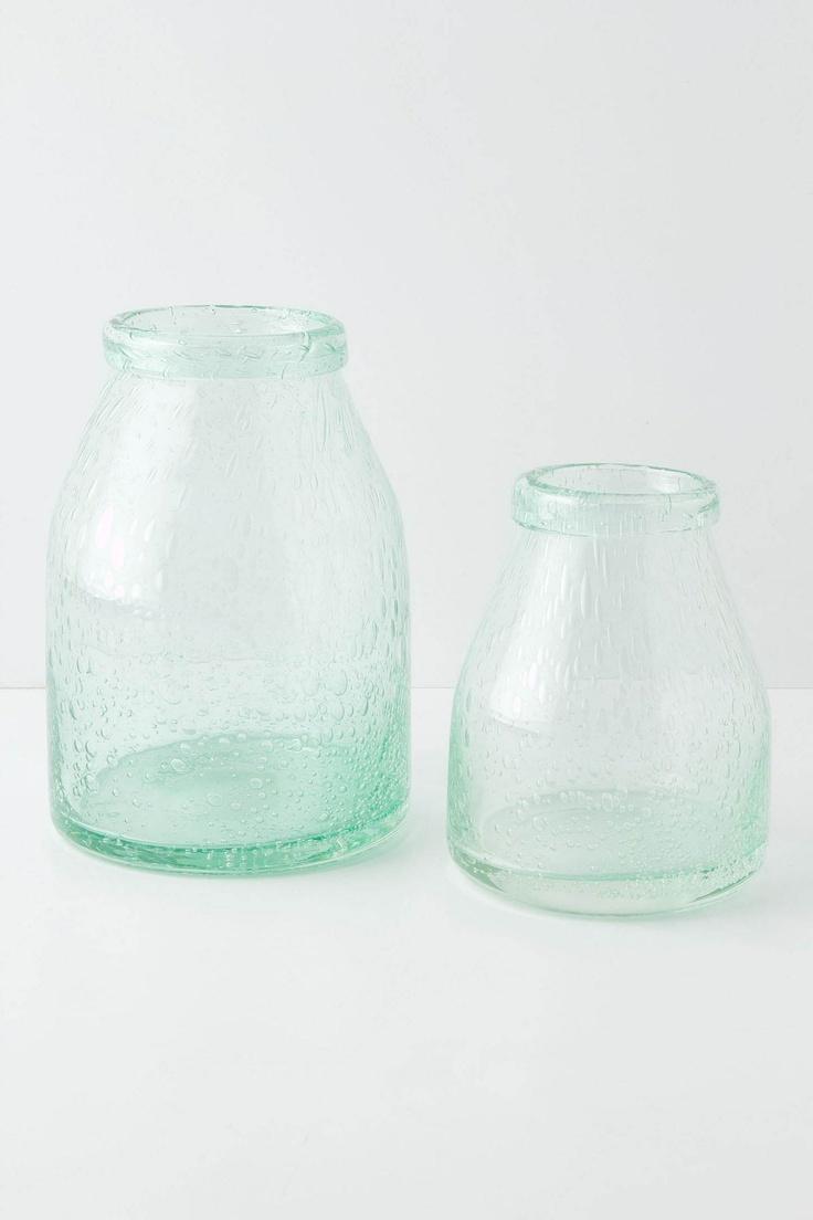 Bubbled Glass vessels
