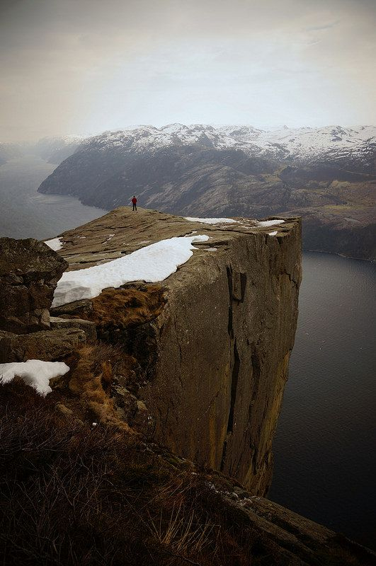 Preikestolen, The Pulpit Rock, Norway