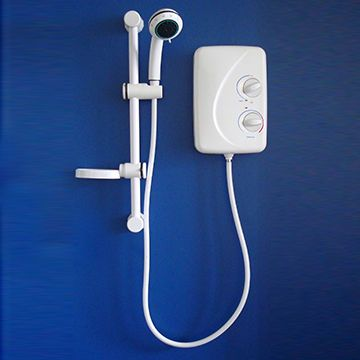 Uk Style Electric Instantaneous Shower Tankless Water Heater For Bathroom Tankless Water Heater Water Heater Electricity