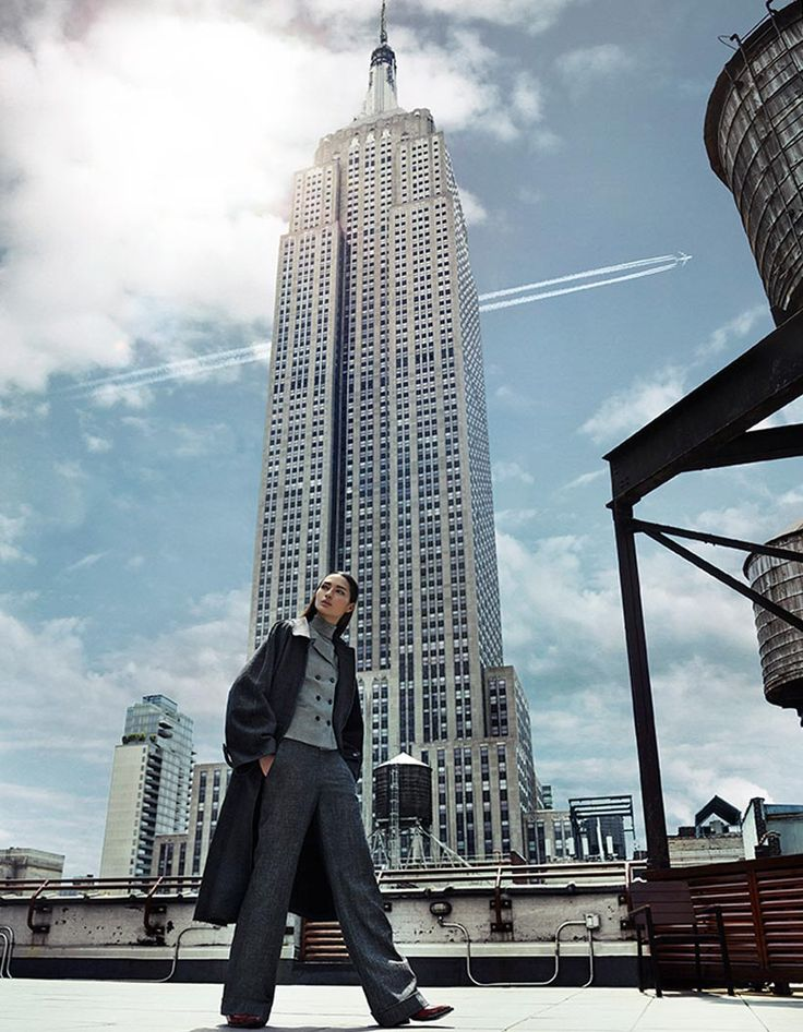 "Grazia Italy Editorial ""Hear it from New York"" shot by the fashion photographer Xavi Gordo represented by 8AM -  8 Artist Management 05 
