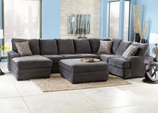 Dylan Charcoal 4 Pc. Sectional (Reverse) 1799.99