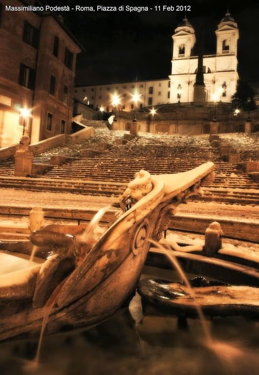 Rome, Spanish Steps, almost 2 years ago.