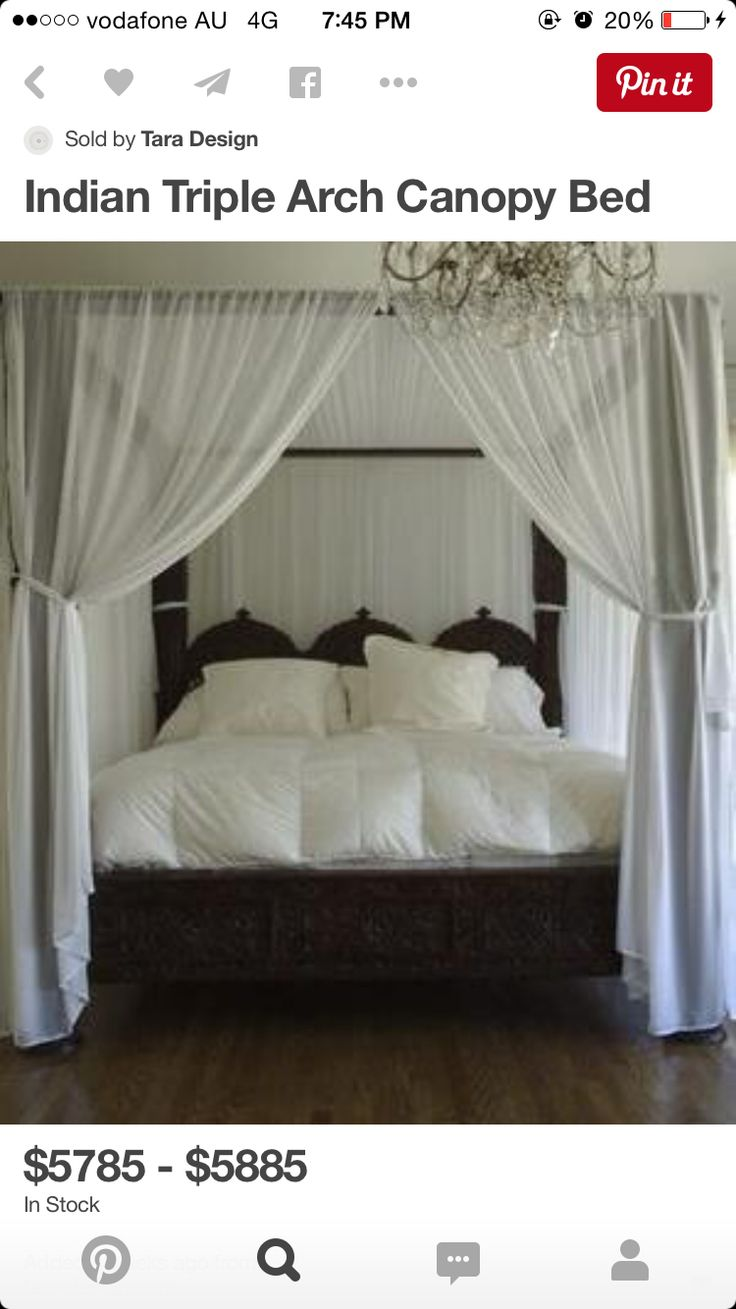 How To Hang Curtains On A Canopy Bed Ehow - Canopy beds look very romantic bed with canopy mosquito net love the calming colours