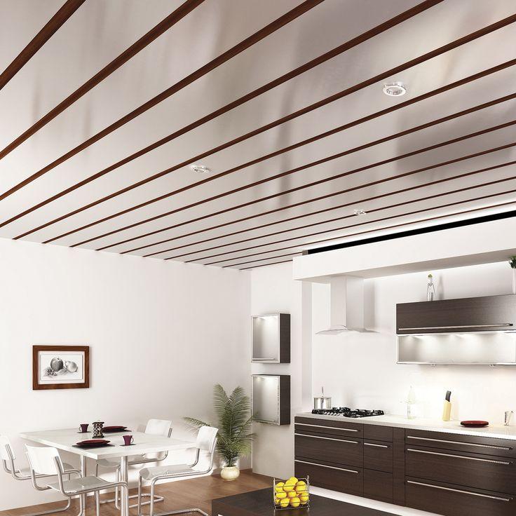 Forro de pvc tem muitos benefícios! É fácil de limpar, de instalar e tem boa durabilidade! #decoração #design #madeiramadeira