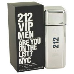 212 Vip by Carolina Herrera Eau De Toilette Spray 3.4 oz (Men)