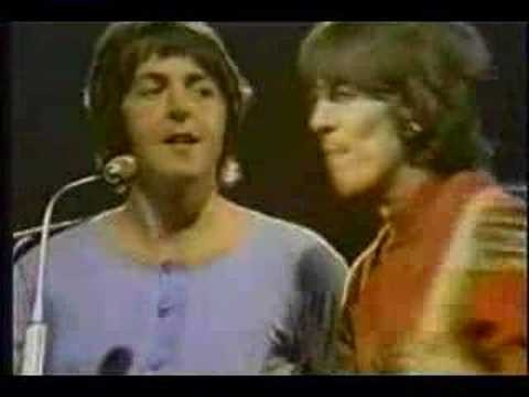 The Beatles - Revolution. Live on the Smothers Brothers Comedy Hour (1968)