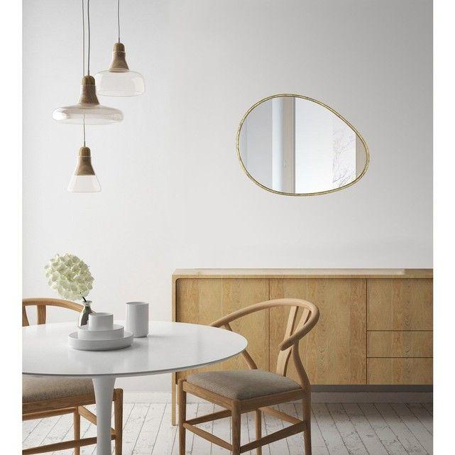 Miroir contemporain Galet 60x90 EMDE PREMIUM
