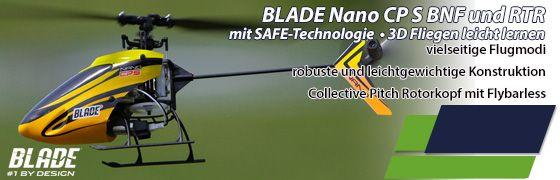 Hubschrauber Blade Nano CP S