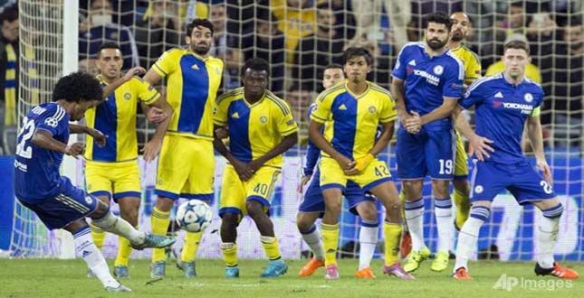 CHAMPIONS LEAGUE: CHELSEA ON BRINK OF LAST 16 AFTER MACCABI WIN..... See More http://goo.gl/ypSLFm