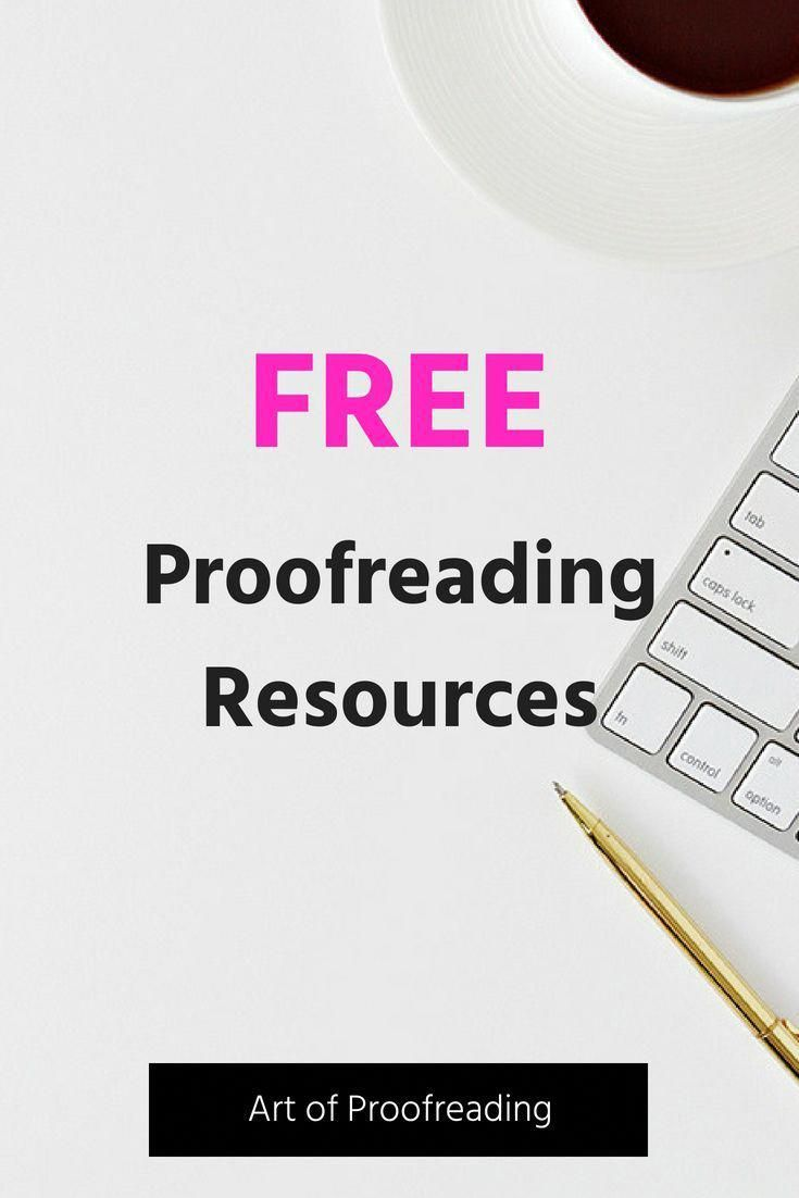 Proofreading marks and how to use them--grammar tutorial.