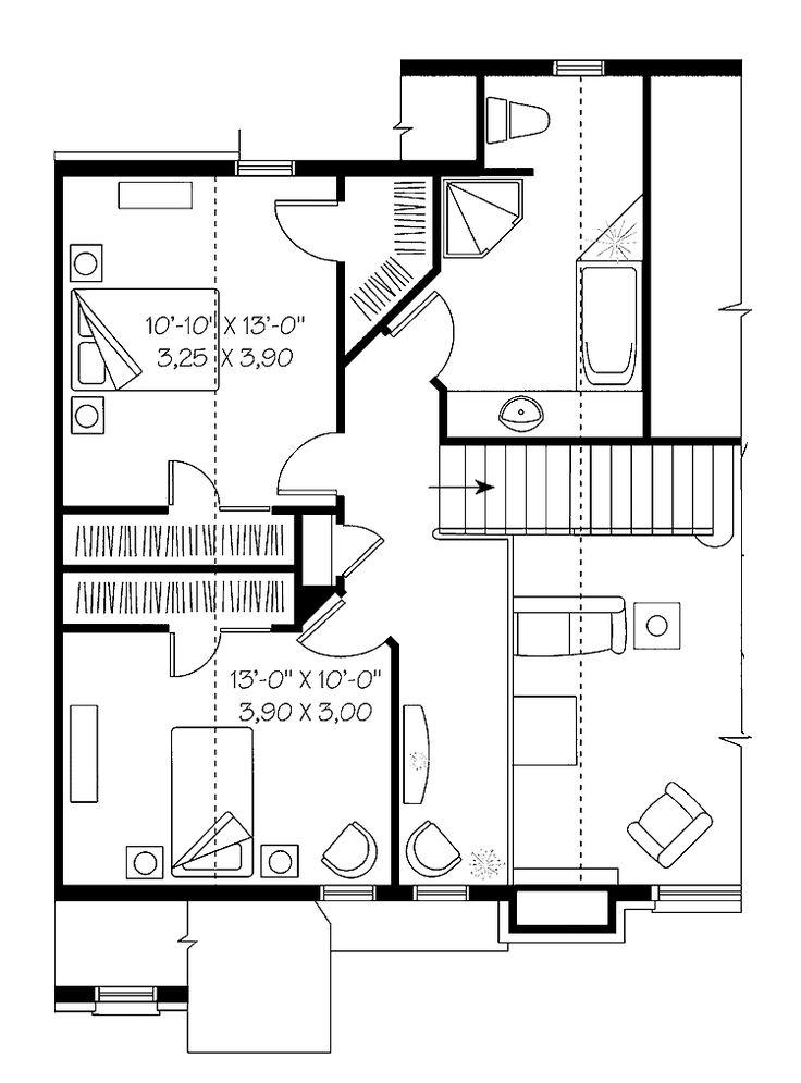 31 best casas de madera y planos images on pinterest log - Planos casa madera ...