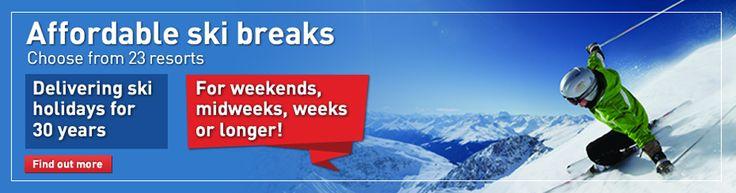 Affordable ski short breaks with Ski Weekends