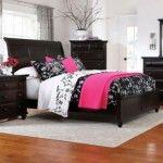 $568.00 Broyhill - Farnsworth Sleigh Bed - 4856-260QKC