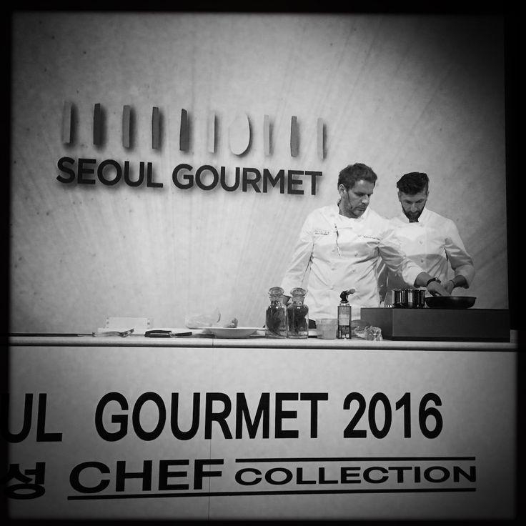 Dominika Telega prosto ze stolicy Korei Południowej: W Seulu spotkali się jedni z najlepszych szefów kuchni na świecie, dołączył do nich Wojciech Modest Amaro. Rozpoczął się Seoul Gourmet 2016.