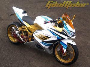 Kawasaki Ninja 250 Gold Modification