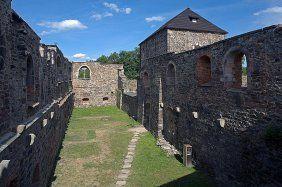Hrad Cheb - nejstarší kamenný hrad v ČR