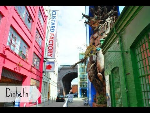 Digbeth, o bairro alternativo de Birmingham (UK)